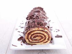 Bûche aux marrons et chocolat : Recette de Bûche aux marrons et chocolat - Marmiton