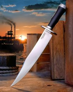 Cold Steel Natchez Bowie... Get yours at OsoGrandeKnives.com: http://www.osograndeknives.com/catalog/fixed-blade-bowies/cold-steel-16absj-natchez-bowie-110.html