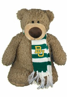 #Baylor University 14'' Plush Archie Bear. That scarf!
