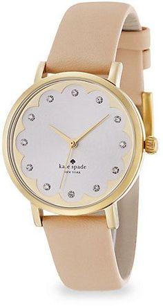Kate Spade Metro Watch. Gimme.
