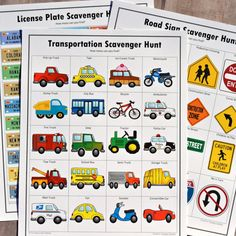 Scavenger hunts are a great way to keep kids busy on long road trips. Kids will love these road trip scavenger hunts.