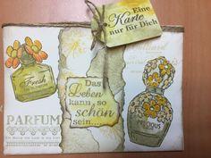 Geburtstagskarte Different Colors, Stamps, Nike, Fragrance, Seals, Postage Stamps, Stamp