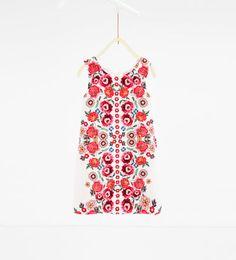 Λουλουδάτο φόρεμα-ZARA ΕΛΛΑΔΑ