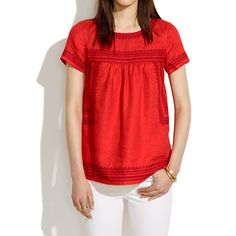 linen folktale blouse
