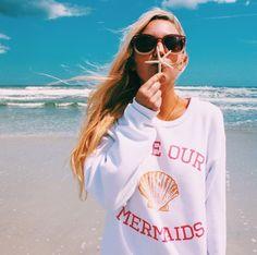 Save Our Mermaids // @qteeshirts