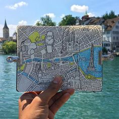 Zurich Moleskine City map drawing I never thought it would be this pretty wowed  #travelmap #ink #pen #illustration #draw #drawing #sketch #sketching #rotring #stationary #inkstagram #inkart #inky #sketchpad #sketchbook #sketchbookdaily  #traveldraw #traveldrawing #travelvlogger #travelmap #traveljournal #travel #creative #inspiration #iamatraveler #moleskine #TLPicks #zurich #switzerland