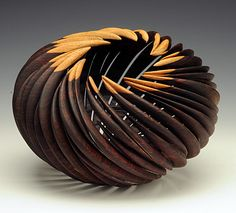 William Hunter, Artist, Desert Bloom, 2008, cocobolo