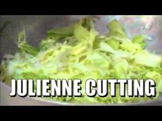HOW TO CABBAGE JULIENNE CUTTING BY BOTI