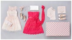 zwei Vorschläge für den Abschlussball – mal knallig und mal etwas dezenter #PersonalOutfit #Garhammer #Mädchenmode #Abschlussball #Kleid