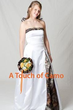 My mother would kill me.. I think if I'd do camo it'd be on the groom and his dudes.