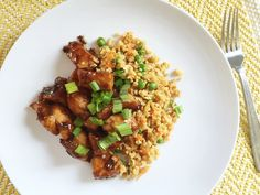 Get more veggies in at mealtime! Make this easy, cauliflower fried rice for a quick weeknight dinner and fool the littlest eaters in your house.