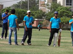 Ready for action...!! - PCCare247 Cricket Tournament 2012