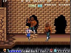 A Bobo is about to get you dude! Double Dragon