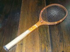 1920s Tennis Racket Vintage Sports Equipment Wright Ditson Surprise. $24.00, via Etsy.