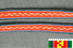 The band is inspired by various historical findings in Norway, including the silk ribbon from Oseberg.