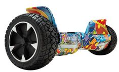 Gotrax Hoverfly XL All-Terrain Hoverboard Self-Balancing Scooter - Black/Blue/Galaxy/Green/Pink/Purple/Red Apex Scooters, Mobility Scooters, Scooter Storage, Homemade 3d Printer, Rubber Tires, Good And Cheap, Electric Scooter, Motor Car, Cool Kids