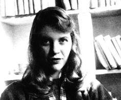 """""""Out of the ash I rise with my red hair, and I eat men like air"""" ~ Sylvia Plath. Made me love poetry."""
