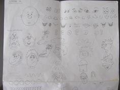 Clase 1 (Como hacer ojos, narices, bocas y luego una cara en un banano o alguna otra fruta)