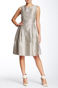 Sleeveless Brocade Dress by Max Studio on @nordstrom_rack