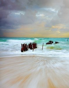 Dicky Beach, Queensland, Australia by Christian Fletcher Beautiful Places To Visit, Beautiful World, Great Places, Places To Go, Amazing Places, Beautiful Beaches, Tasmania, Dicky Beach, Airlie Beach