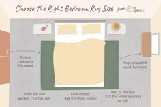 Area Rug Sizes, Area Rugs, Rug Under Bed, Bedroom With Sitting Area, Bed Rug, Rug Placement, Clearance Rugs, Foot Of Bed