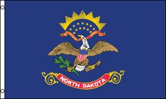 Shop Patriotic North Dakota State Flag Square Paper Coaster created by topdivertntrend. All Us States, Us States Flags, U.s. States, United States, North Dakota, North Carolina Flag, South Carolina, Jeff Koons, Billie Holiday