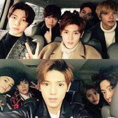 Johnny, Yuta, Taeyong, Jaehyun, Hansol, Mark, Ten