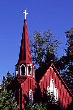 Gold Country - St James Church - Sonora, California