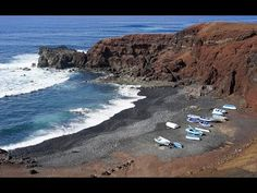Places to see in ( Lanzarote - Spain )  Lanzarote one of the Canary islands off the coast of West Africa administered by Spain is known for its year-round warm weather beaches and volcanic landscape. Timanfaya National Parks rocky landscape was created by volcanic eruptions in the 1730s. Cueva de los Verdes has caverns formed by an underground river of lava. East-coast resort Puerto del Carmen is home to whitewashed villas beaches and dive centers.  Lanzarote is a Spanish island the…