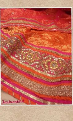 Lovely gota pati work lehenga I bought
