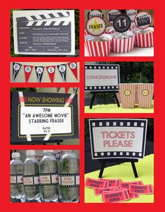 I used this awesome print it yourself pack to make my sons Hollywood movie premiere party a hit!
