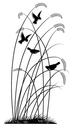 drawing black birds art | Black Birds Drawing by Nato Gomes - Black Birds Fine Art Prints and ...