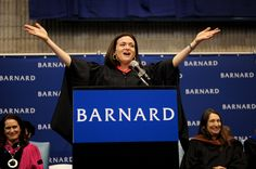 """""""The first thing is I encourage you to think big. We will never close the achievement gap until we close the ambition gap. But if all young women start to lean in, we can close the ambition gap right here, right now. Leadership belongs to those who take it. Leadership starts with you.    - Sheryl Sandberg at Barnard College's Commencement Ceremony in May 2011."""