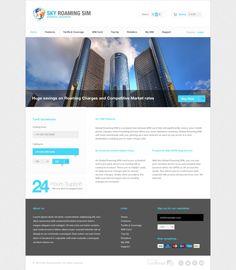 Web Designer UK by Sheikh Naveed, via Behance