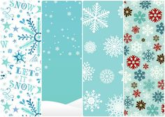 Fondos de pantalla chulos para el móvil (9) - Let it snow! Xmas pattern, snowflakes, Navidad, fondos navideños, bluu