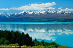 Lake Pukaki, New Zealand <3