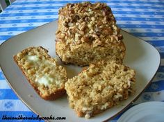 This Molasses Oat Bread is so good straight from the oven and slathered with butter for breakfast or with coffee anytime.  The whole wheat flour and walnuts give it a nutty flavor you will enjoy. ...