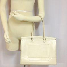 Authentic Louis Vuitton Madeleine Epi White Details to be follow. Louis Vuitton Bags Shoulder Bags