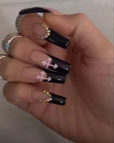 Aycrlic Nails, Nail Manicure, Coffin Nails, Hair And Nails, Fire Nails, Best Acrylic Nails, Girls Makeup, Skin Makeup, Nail Inspo