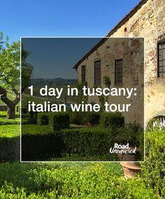 1 Day in Tuscany: Italian Wine Tour