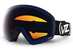 VonZipper - JetPack Black Satin BLW Goggles, Wildlife Low Light Lenses