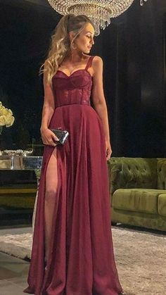 A LINE BURGUNDY PROM DRESS WITH STRAPS, Shop plus-sized prom dresses for curvy figures and plus-size party dresses. Ball gowns for prom in plus sizes and short plus-sized prom dresses for