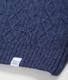 Norse Projects - George Cable Knit
