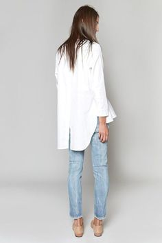 Clothes outfit for woman * teens * dates * stylish * casual * fall * spring * winter * classic * casual * fun * cute* sparkle * Candice Wicks Looks Style, Style Me, Looks Jeans, Mode Shoes, All Jeans, Skinny Jeans, Mode Blog, Ruffle Shirt, Mode Inspiration