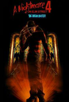 A Nightmare on Elm Street The Dream Master Best Horror Movies, Sci Fi Movies, Horror Films, Great Movies, Freddy Krueger, Fan Poster, Horror Movie Posters, Best Horrors, Nightmare On Elm Street