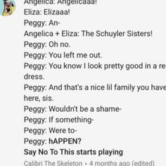 Actually peggy dies when that happened so...OR DID SHE. *suspenseful music plays*