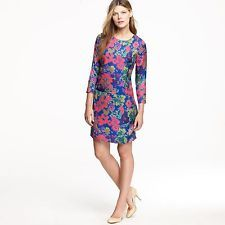 J Crew Floral Print Dress Just in at Swap on Magazine st, size 6!