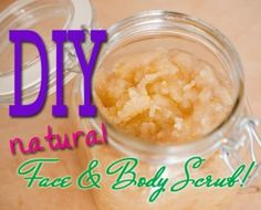 Video: DIY Natural Face & Body Scrub     Fitness, Workouts, Healthy Recipes