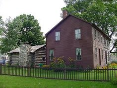 Joseph Smith Family Homestead. Nauvoo, Illinois. Best LDS History & Historical Travels & Tours Pictures, Photos, & Information.
