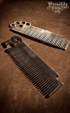 Rumble59 - Stainless Steel Combs - Rockabilly Rules - Onlineshop